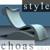 Stylish easy chair