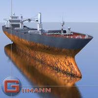 3ds cargo vessel