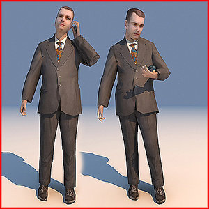 3d character executive 03 line