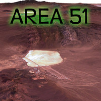 3d area 51 terrain model