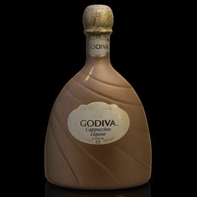 bottle godiva 3d max