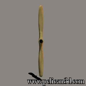 pelican propeller obj