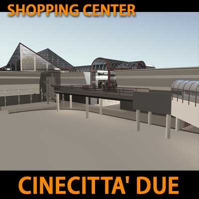 mall commercial 3d model