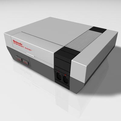 3d nintendo console controller joypad