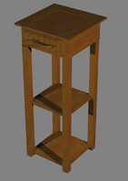 3dsmax vanity unit table lamp
