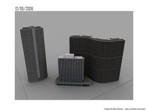 italy building são paulo 3d model