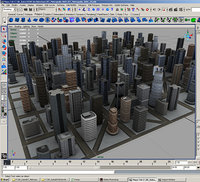 city environment buildings construction ma