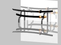 3ds max katana sword