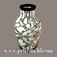 pelican vase 3d obj