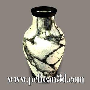 pelican vase 3d model