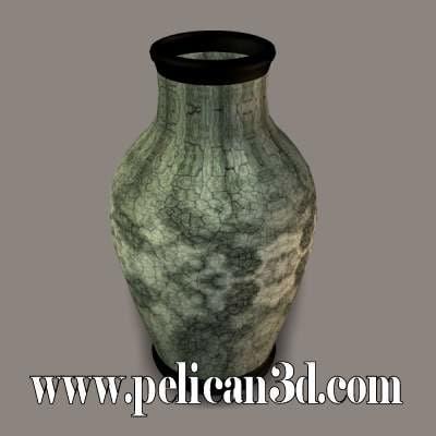pelican vase obj