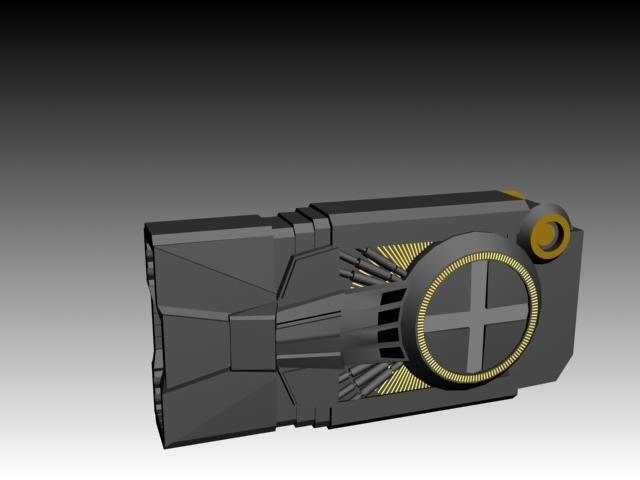 free positron arcangel 3d model