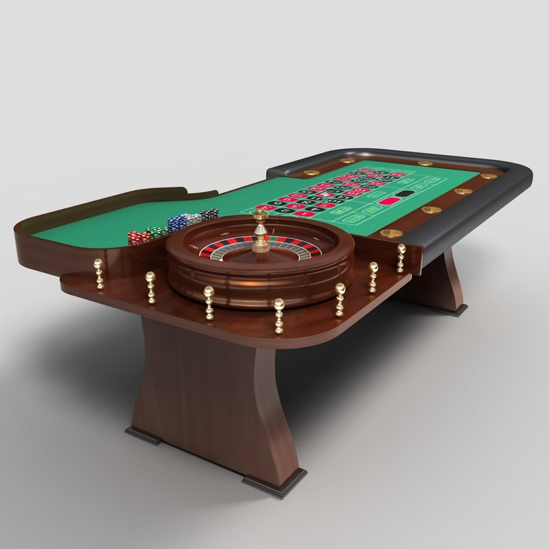 smax roulette table