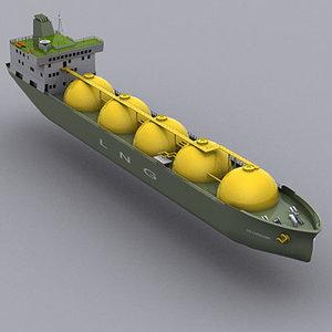 max lng cargo ship