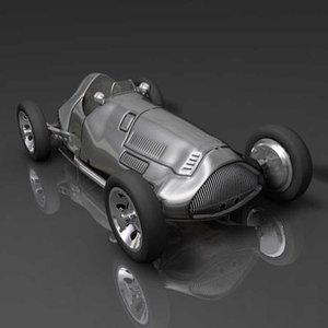 max silver arrow racing car