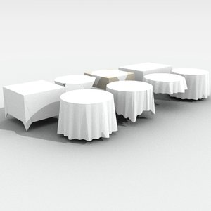3d tablecloth cloth table
