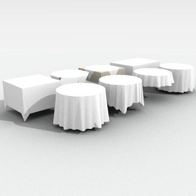 3d tablecloth cloth table