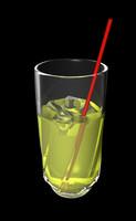 3d model lemonade