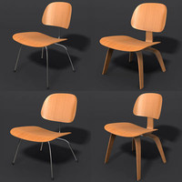 EAMES Ply Wood Chair Set