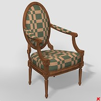 Chair old fashioned012_max.ZIP