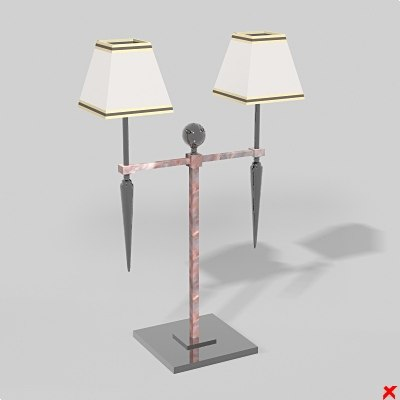 lamp light 3d max