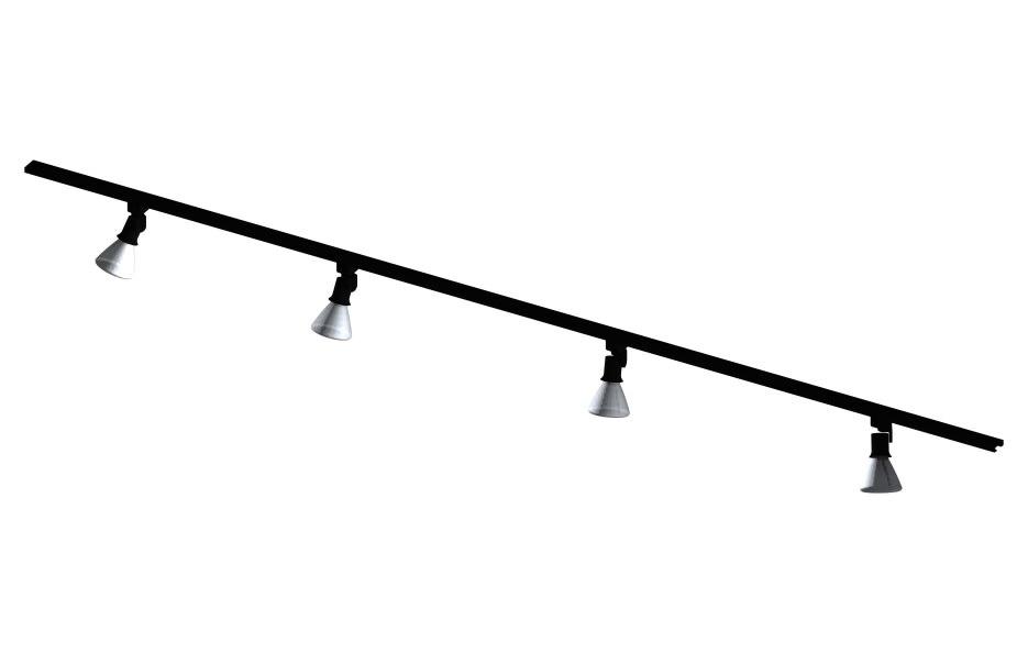 par track light fixture 3ds
