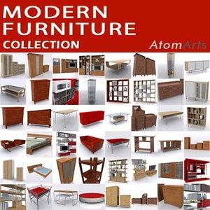 ikea furniture 3d model