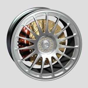 3d model wheel disk oz