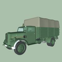 c4d german truck