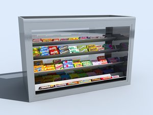 3d candy counter