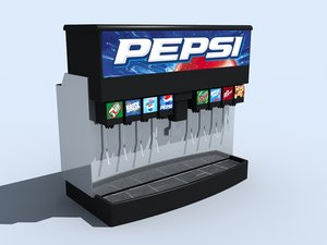 drink dispenser 3d model