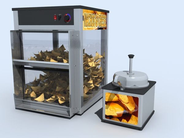 3d nacho dispenser