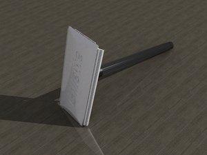 free max model razor