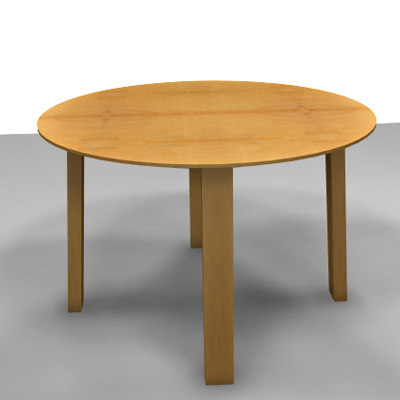 dwg table dining