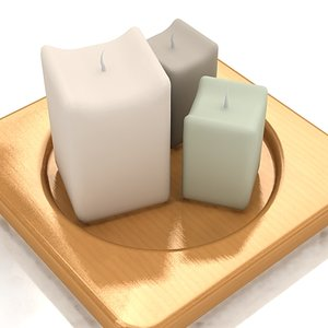 3d max candle