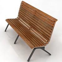 3dsmax bench
