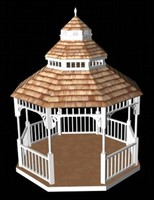 White Gazebo Maya.zip