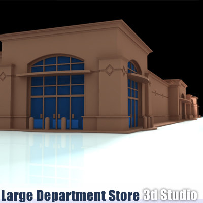 3d model department store