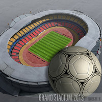 grand stadium updated 3d model