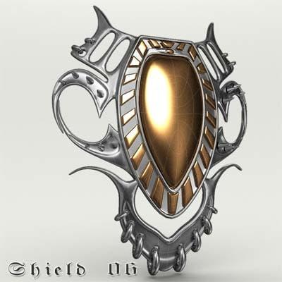 shield 06 3d 3ds