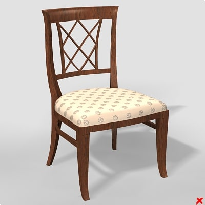 chair furniture 3d model