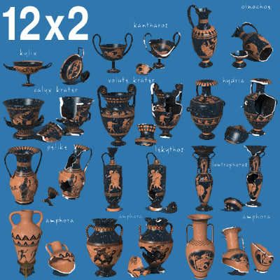 ancient ceramics 3d model