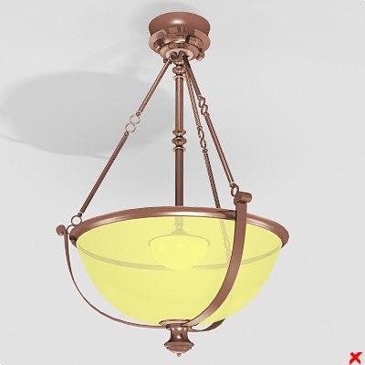3dsmax chandelier lamp