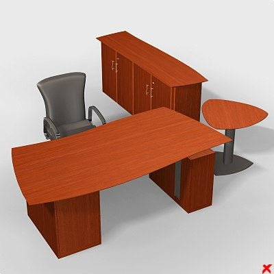 3dsmax desk executive