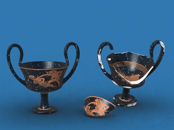 kantharos cup greek max