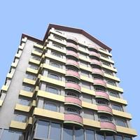 3d model apartment building