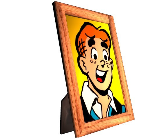 maya wood picture frame