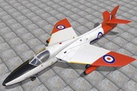 c4d hawker hunter jet fighters