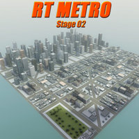 3d model city environment buildings construction