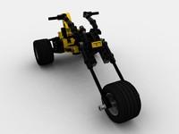 Lego Motor Bike